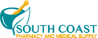 South Coast Pharmacy and Medical Supply Logo